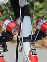 preiswerte -1pc LED-Nachtlicht Weiß Knopf Batteriebetrieben Fahhrad Laufen Sicherheit Notfall