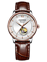 cheap -CADISEN Men's Automatic self-winding Mechanical Watch Dress Watch Fashion Watch Japanese Water Resistant / Water Proof Casual Watch
