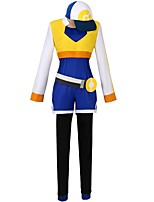 cheap -Inspired by Pocket Little Monster Other Anime Cosplay Costumes Cosplay Suits Other Long Sleeves Coat Leotard / Onesie Pants Gloves Belt