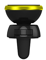 abordables -Coche sostenedor del soporte de montaje Rejilla de salida de aire Tipo de hebilla Tipo magnético Acrílico Titular