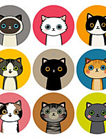 cheap -Animals Stickers, Labels & Tags - 1 Circular Stickers All Seasons