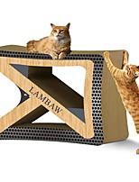 cheap -Catnip Scratch Pad Luxury Pet Friendly Multi Color Scratch Pad Paraben Free Art Paper Cardboard Paper For Cat Kitten
