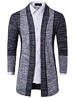 cheap -Men's Cardigan - Color Block V Neck