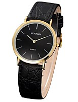 cheap -Women's Fashion Watch Japanese Quartz Water Resistant / Water Proof Genuine Leather Band Fashion Black Brown