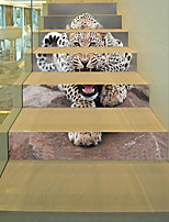 cheap -Animals 3D Wall Stickers 3D Wall Stickers Decorative Wall Stickers, Vinyl Paper Home Decoration Wall Decal Wall