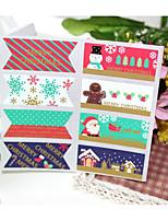 baratos -Férias Etiquetas, Etiquetas e tags - 8 Natal Irregular Autocolantes Todas as Estações