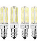 preiswerte -SENCART 1pc 3.5W 600lm E14 G9 G4 LED Mais-Birnen T 104 LED-Perlen SMD 3014 Dekorativ Warmes Weiß Kühles Weiß 110-120V 220-240V