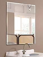 cheap -Mirror Glossy Contemporary Tempered Glass 1 pc - Mirror Shower Accessories