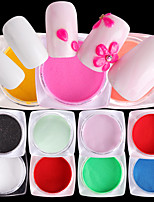 Недорогие -10 Порошок блеска блестит Мода Советы для ногтей Дизайн ногтей