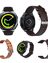 cheap -Watch Band for Gear Sport Gear S2 Classic Samsung Galaxy Classic Buckle Genuine Leather Wrist Strap