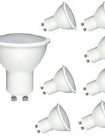 cheap -8pcs 6W 600 lm GU10 MR16 LED Spotlight 1 leds COB Dimmable Decorative Warm White Cold White 220-240V