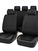 cheap -Car Seat Covers Seat Covers Black Beige Gray PU Leather Business for universal Universal
