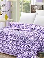 cheap -Coral fleece, Reactive Print Geometric Polyester/Polyamide Blankets