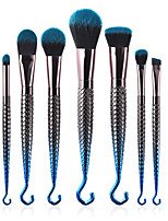 cheap -7 pcs Permanent Makeup Kit Supplies Eyelash Brush Lip Brush Blush Brush Makeup Brush Set Synthetic Hair Eco-friendly Professional Soft