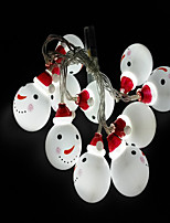 cheap -10 LEDs 1.5M String Light White Decorative AA Batteries Powered