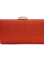 cheap -Women's Bags PU Evening Bag Embossed for Wedding / Event / Party Gold / Silver / Red