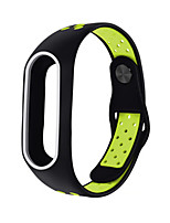 cheap -Watch Band for Mi Band 2 Xiaomi Sport Band Silicone Wrist Strap