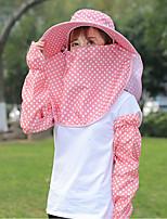 cheap -Women's Casual Polyester Sun Hat - Polka Dot, Basic