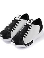 abordables -Homme Chaussures Polyuréthane Printemps Automne Confort Basket pour Décontracté Blanc Noir Rouge