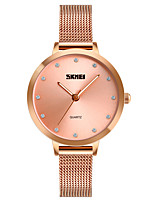 cheap -SKMEI Women's Quartz Unique Creative Watch Fashion Watch Casual Watch Japanese Water Resistant / Water Proof Imitation Diamond Casual