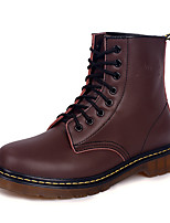 cheap -Men's Shoes Synthetic Microfiber PU PU Nappa Leather Spring Summer Fashion Boots Boots Walking Shoes Booties/Ankle Boots for Casual