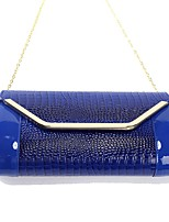 cheap -Women's Bags PU Wristlet Tassel for Wedding Event/Party All Seasons Blue Black