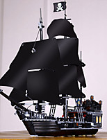 cheap -Black Pearl Building Blocks Pirate Ship Exquisite Vintage Style Pirates Toy Toy Gift