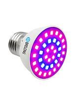cheap -BRELONG® 1pc 1W 300 lm E14 GU10 MR16 E26/E27 Growing Light Bulbs 36 leds SMD 2835 Blue 220-240V