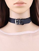 cheap -Women's Leather Choker Necklace - Fashion Rock Necklace For Daily Date