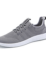 cheap -Men's Shoes Knit Spring Fall Comfort Sneakers for Casual Black Dark Blue Gray