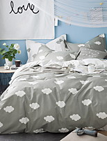 cheap -Duvet Cover Geometric 1 Piece 100% Cotton Reactive Print 100% Cotton 1pc Duvet Cover
