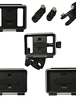 cheap -Back Cover Mount / Holder Flush Mount Back Cover For Action Camera Gopro 4 Silver Gopro 4 Gopro 3 Gopro 3+ Gopro 2 Gopro 1 Universal