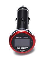 Недорогие -универсальный T68 МР3 плеер Способствует хорошему настроению Автомобильный MP3-FM модулятор MP3 Динамик
