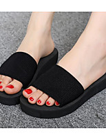 cheap -Women's Shoes EVA Summer Comfort Slippers & Flip-Flops Flat Heel for Casual Black Red