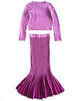 Недорогие -Жен. Обтягивающие Вязаная ткань Платья