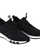 cheap -Men's Shoes Fabric Spring Fall Comfort Sneakers for Casual Outdoor Gold Black Silver