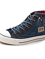 cheap -Men's Shoes Canvas Spring Fall Comfort Sneakers for Casual Outdoor Black Blue
