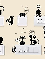 abordables -Animales Pegatinas de pared Calcomanías de Aviones para Pared Calcomanías Decorativas de Pared Calcomanías Para Los Interruptores de Luz,
