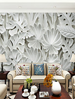 abordables -Arbres / Feuilles Décoration artistique 3D Décoration d'intérieur Classique Moderne Revêtement, Toile Matériel adhésif requis Mural,