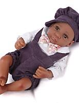 Недорогие -Куклы реборн Новый дизайн Принцесса Дети Новорожденный как живой Милый стиль Полный силикон для тела Все Подарок