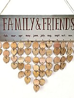 cheap -Wedding / New Year Wooden Wedding Decorations Family All Seasons