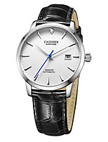 cheap -CADISEN Men's Automatic self-winding Dress Watch Fashion Watch Japanese Calendar / date / day Water Resistant / Water Proof Casual Watch