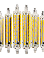 cheap -YWXLIGHT® 6pcs 9W 800-900 lm R7S LED Corn Lights 164 leds SMD 5730 Dimmable Decorative Warm White Cold White Natural White AC 220-240V