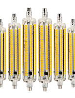 Недорогие -YWXLIGHT® 6шт 9 Вт. 800-900 lm R7S LED лампы типа Корн 164 светодиоды SMD 5730 Диммируемая Декоративная Тёплый белый Холодный белый