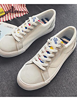 cheap -Men's Shoes Canvas Spring Fall Comfort Sneakers for Casual White Black Red