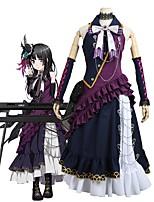 abordables -Inspiré par BanG Dream Cosplay Manga Costumes de Cosplay Costumes Cosplay Autre Sans Manches Cache-col Robe Plus d'accessoires Pour Homme