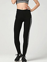 cheap -Women's Sporty Legging Color Block High Waist