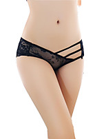 cheap -Women's Ultra Sexy Panties G-strings & Thongs Panties Solid Colored Floral Jacquard Low Rise