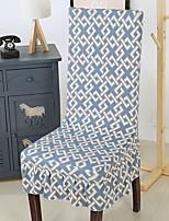 baratos -Moderna 100% Jacquard Poliéster Cobertura de Cadeira, Simples Listrado Estampado Estampado Capas de Sofa