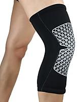 preiswerte -Kniebandage für Rennsport Basketball Jogging Laufen Unisex Stoßfest Rutschfest Sport & Natur Lycra Spandex 1 Stück Orange Gelb Rot Blau